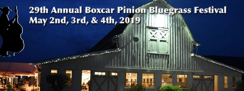 29th Annual Boxcar Pinion Forever Bluegrass Festival