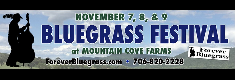 3rd Annual Forever Bluegrass Fall Festival