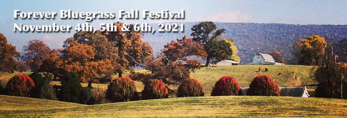 4th Annual Fall Forever Bluegrass in the Cove